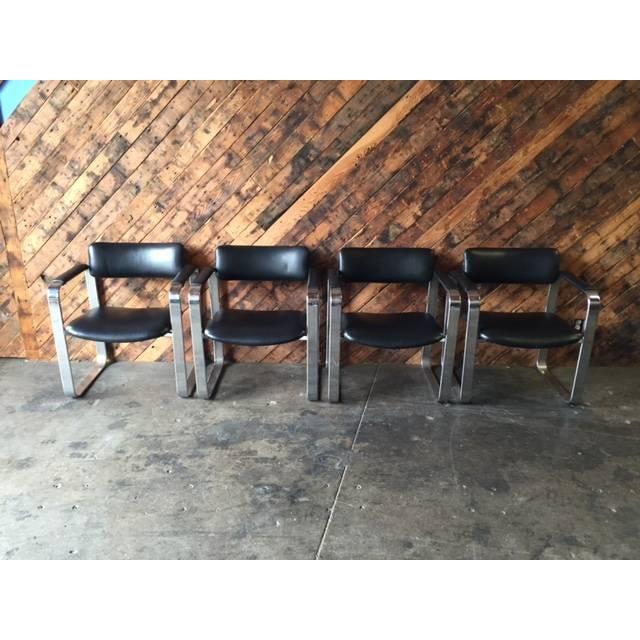 Mid-Century Eero Aarnio Chairs - Set of 4 - Image 4 of 8