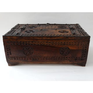 Anglo-Indian Carved Wood Desk Box Preview
