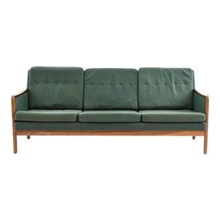 Mid-Century Danish Modern Rosewood Sofa For Sale