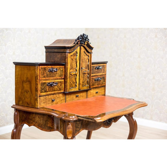 Louis Philippe 19th Century Writing Desk in the Louis Philippe Style For Sale - Image 4 of 10