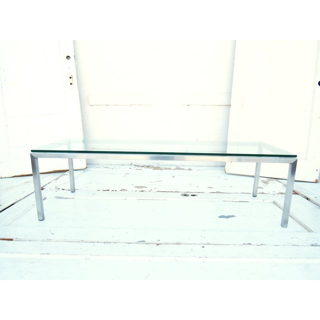 Modern Glass Coffee Table - Image 2 of 4