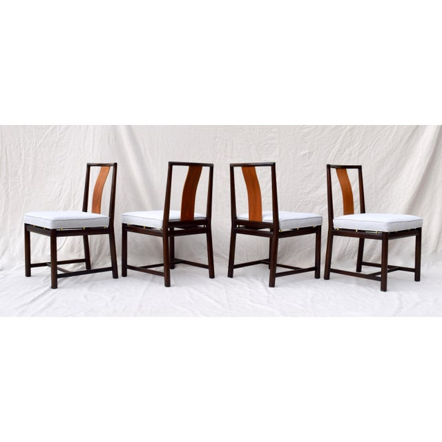 Wood 1960s Vintage John Stuart Dining Chairs- Set of 14 For Sale - Image 7 of 13