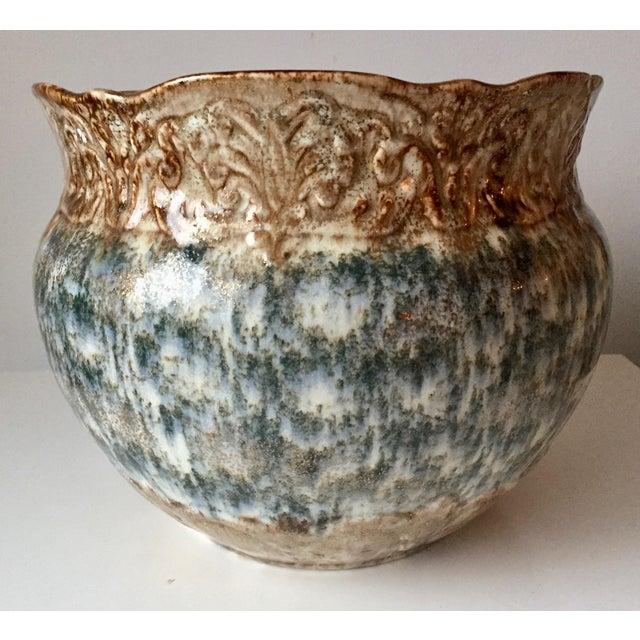 Antique Weller Pottery 10 Jardiniere Arts Crafts Chairish