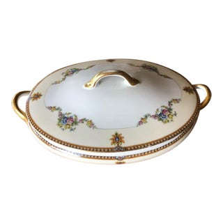 Vintage Noritake Japan Covered Serving Dish For Sale