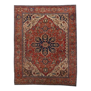 Heriz Medallion Carpet For Sale