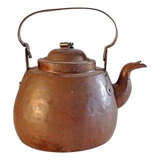 Hand Made Copper Kettle For Sale
