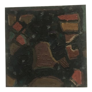 1980s Jay Milder Abstract Oil Painting For Sale