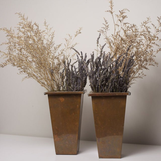 Galvanized Planters - A Pair - Image 3 of 3