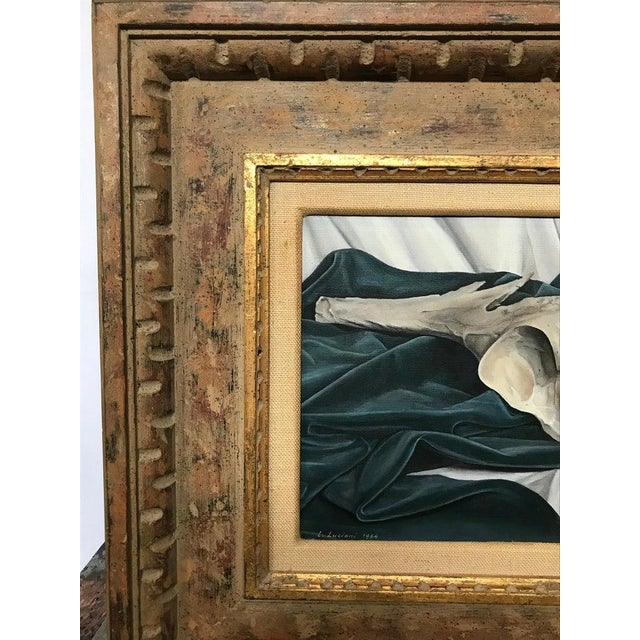 Luigi Lucioni Oil on Canvas Still Life For Sale In New York - Image 6 of 9