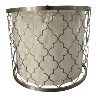 Regina Andrew Modern Brushed Nickel Chandelier For Sale