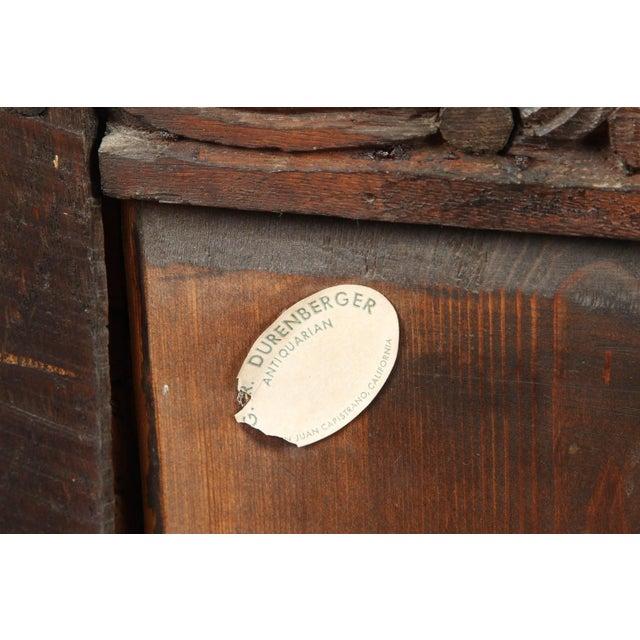 19th Century English Oak Sideboard - Image 10 of 10