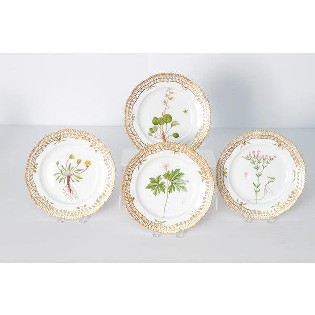 Royal Copenhagen Flora Danica Pierced Plates #20/3554 For Sale - Image 13 of 13