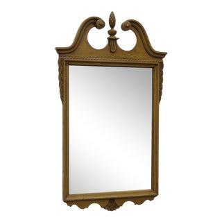 Painted Mahogany Wall Bedroom Bathroom Vanity Mirror For Sale