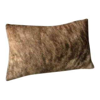 Cow Hide Leather Cushion For Sale