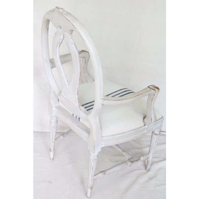 Mid 19th Century Swedish Gustavian Dining Chairs, Set of 6 For Sale - Image 12 of 13