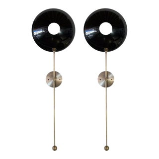 """Pop"" Wall Sconces - a Pair For Sale"
