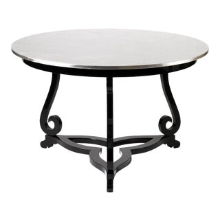 Covet Paris Flourish Pedestal Table For Sale