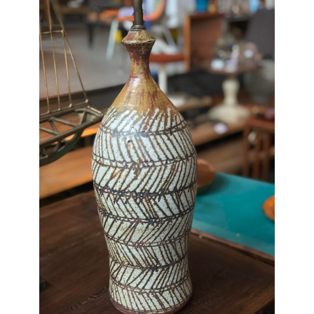 1960s Robert Sperry Lamp For Sale - Image 5 of 5
