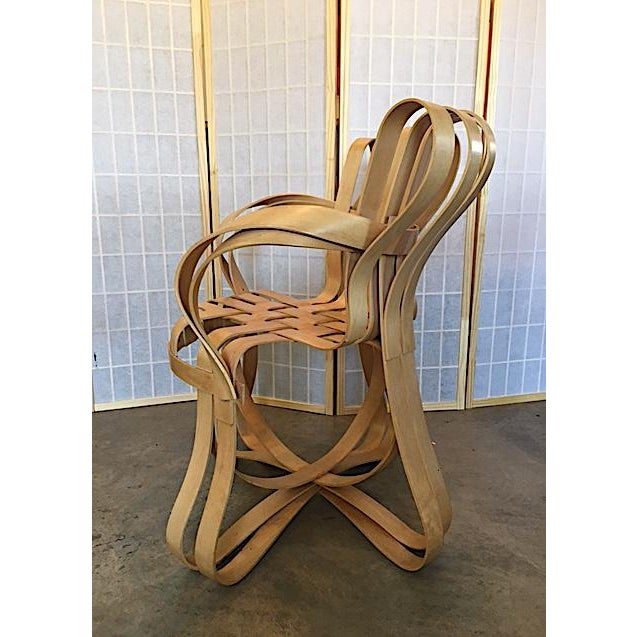 Frank Gehry for Knoll Modern Cross Check Chair For Sale In New York - Image 6 of 11