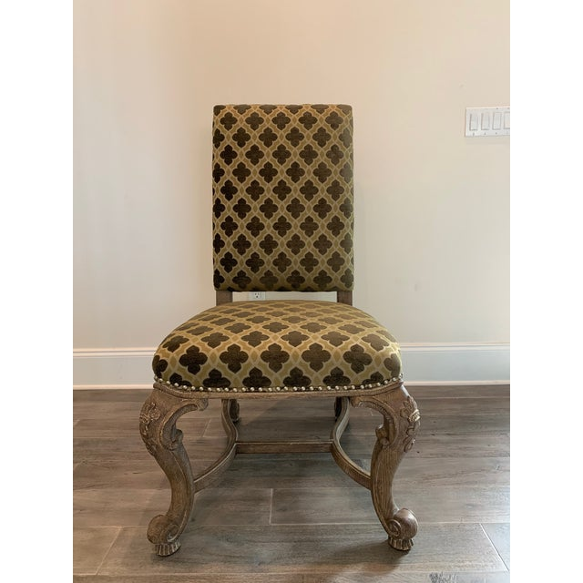 2010s Modern Traditional Style Dining Chair For Sale - Image 5 of 5