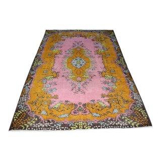 "Traditional Oriental Turkish Rug - 5'11"" x 9'6"""