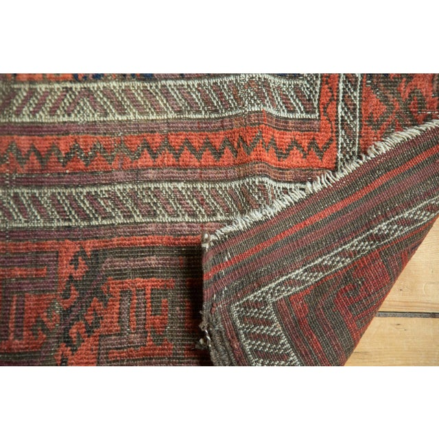 "Antique Belouch Rug Runner - 3' x 5'8"" For Sale In New York - Image 6 of 9"