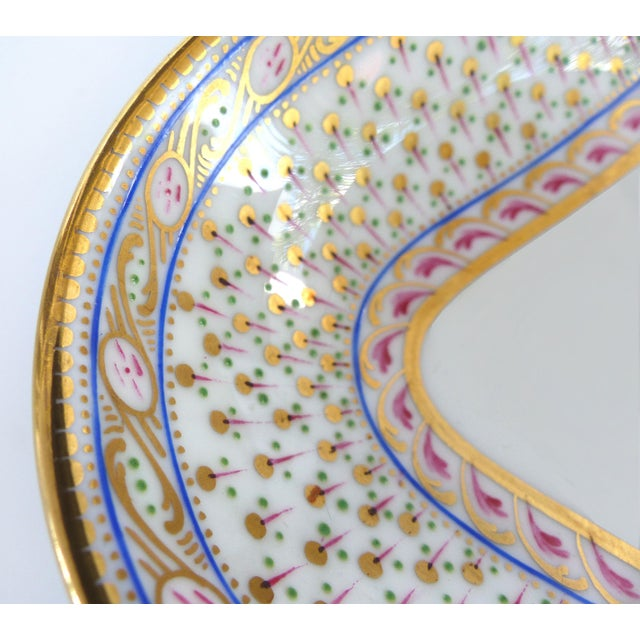 Cauldon England for Tomas Goode Fine China Luncheon/Dessert Service For Sale In Miami - Image 6 of 9