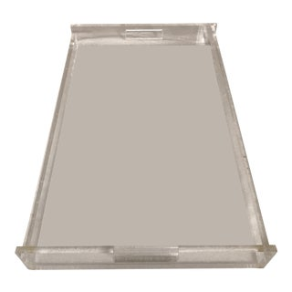 Extra Large Lucite Tray