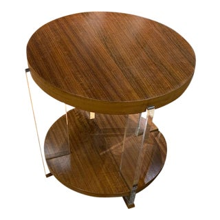 Dell Rey Side Table From Vanguard Furniture Showroom Sample For Sale