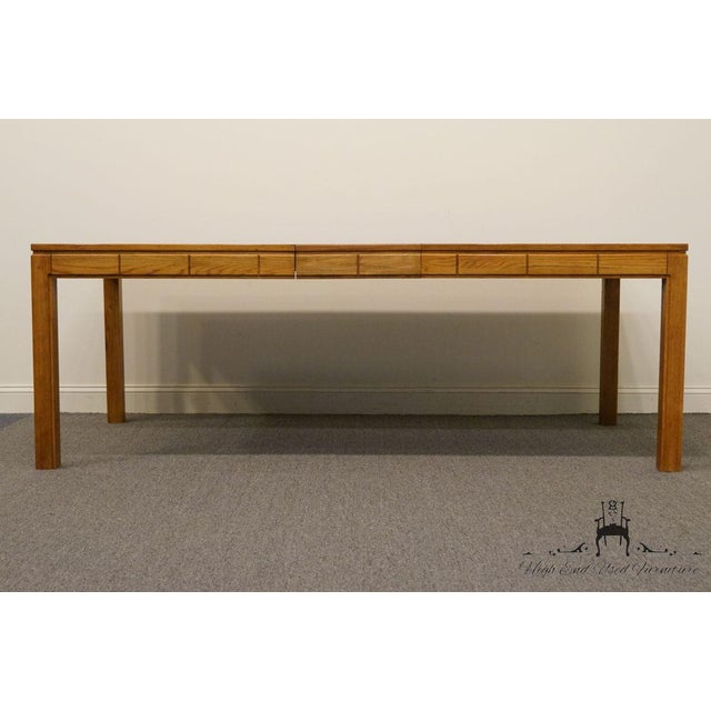 "Thomasville Thomasville Furniture New Country Collection 84"" Dining Table For Sale - Image 4 of 13"