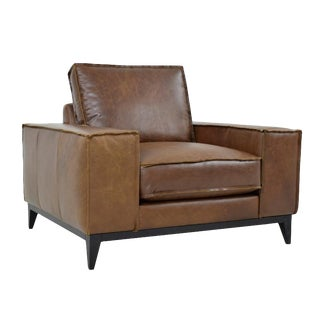 Tobacco Leather Chair