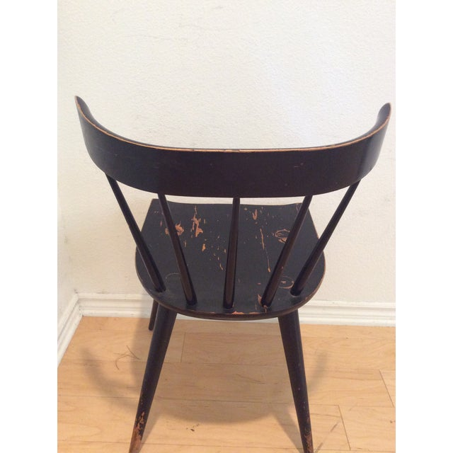 Mid-Century Modern 1960s Mid-Century Modern Paul McCobb Spindle Back Chair For Sale - Image 3 of 4