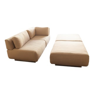 1980s Mid-Century Modern Modular Sofa Set For Sale