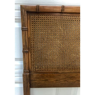 Boho Chic Dixie Faux Bamboo Twin Caned Headboard Preview
