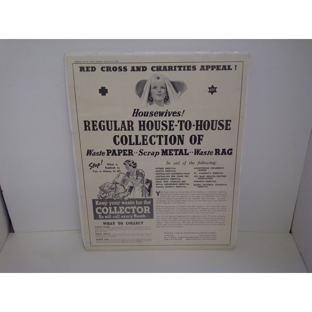 Vintage Red Cross Newspaper Advertisement 1940 - Image 2 of 6
