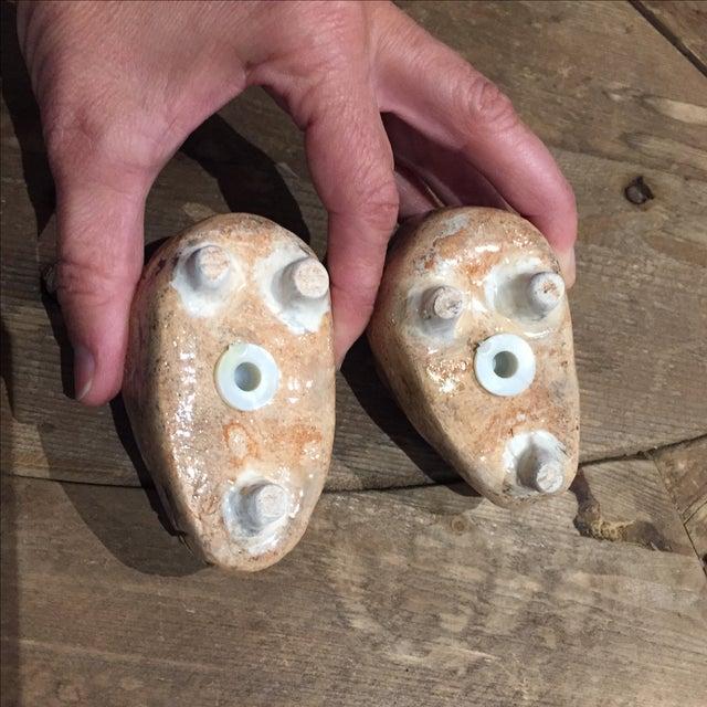 Folk Art Skull Salt & Pepper Shakers - A Pair - Image 5 of 7