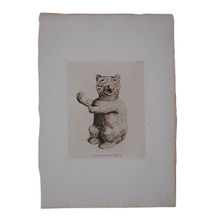Antique Ltd. Ed. English Pottery Etching