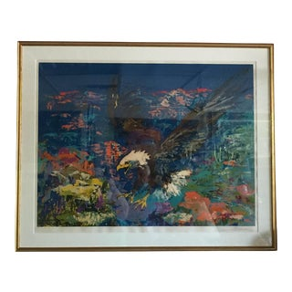 "Leroy Neiman ""Bald Eagle"" Serigraph For Sale"