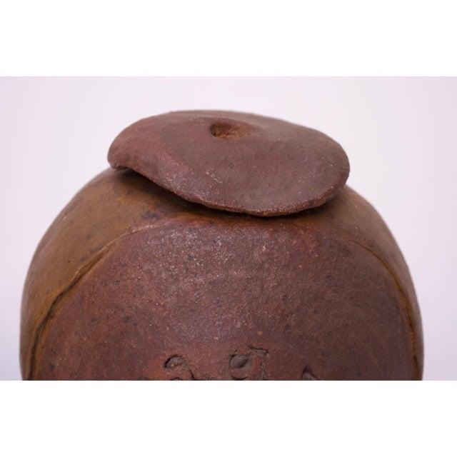 """Femina El Fera"" Figural Studio Stoneware Vase / Candleholder Signed Polk For Sale - Image 11 of 13"