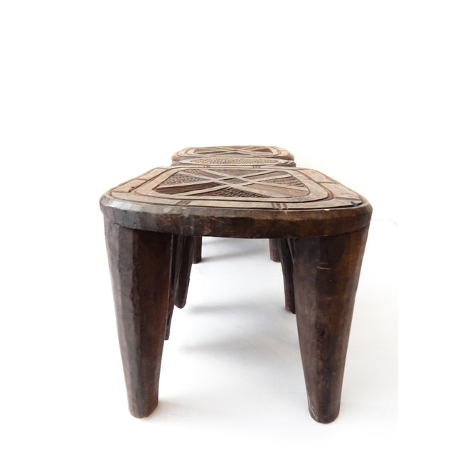 Vintage Nupe Eight-Legged Stool - Image 6 of 8