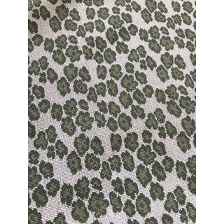 Cowtan & Tout Panther Green Fabric For Sale