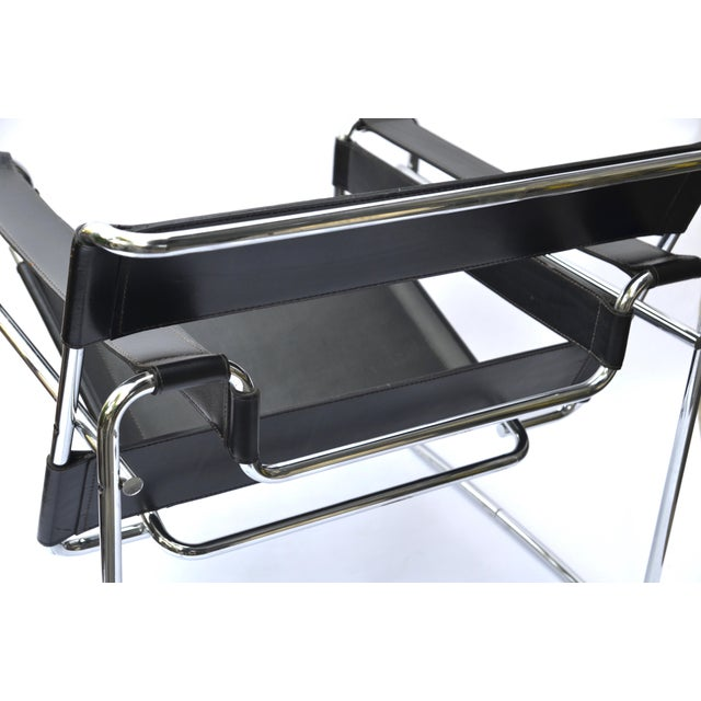 Silver 1970s Marcel Breuer Wassily Chair by Knoll For Sale - Image 8 of 12