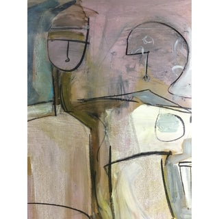 Large Scale Figurative Abstract Painting by C P #22 For Sale