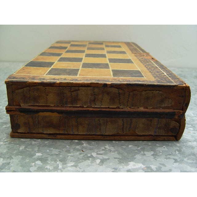 Backgammon Chess Board Book Box - Image 4 of 8