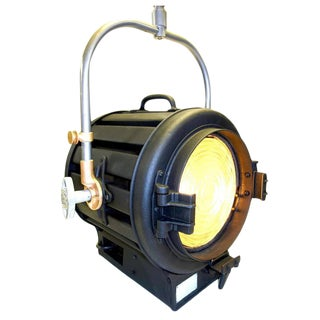 Decorative Display Movie Cinema Studio Light Fixture With Correct Restored Factory Finish, Circa 1939 For Sale