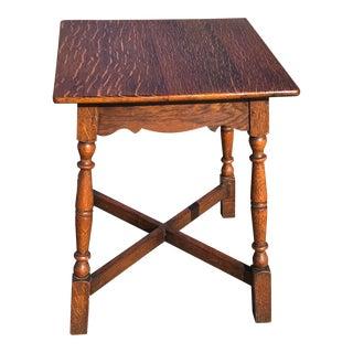 Vintage Wooden Pub Table For Sale
