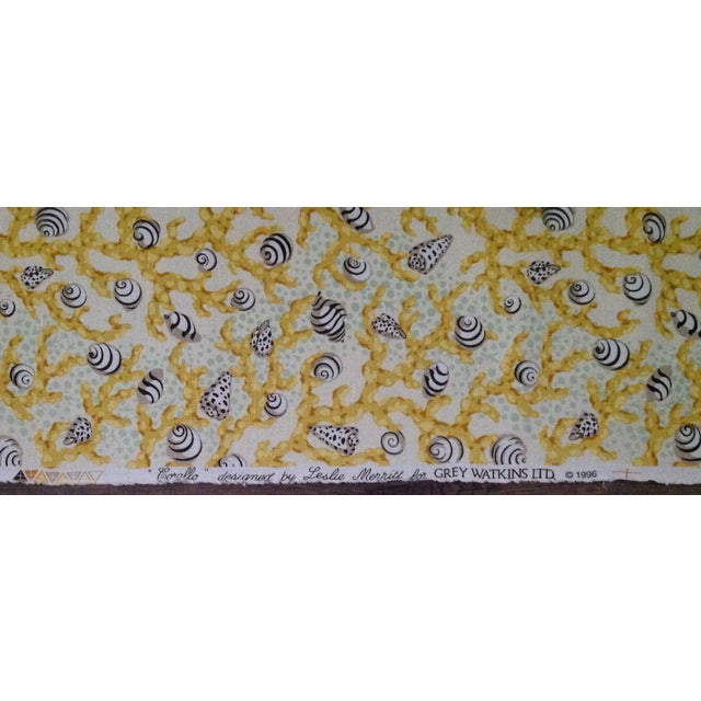 "Grey Watkins ""Corallo"" Textile - 3 Yards For Sale In West Palm - Image 6 of 7"
