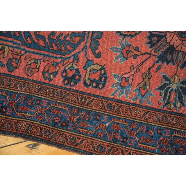 "Vintage Lilihan Rug Runner - 3'1"" x 17'9"" For Sale - Image 5 of 10"