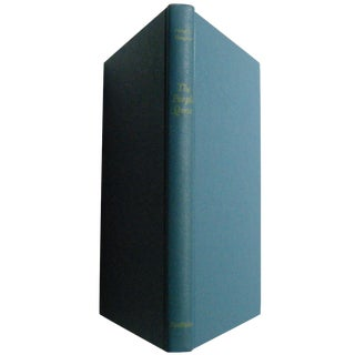 Vintage 1960s Book 'The Purple Quest Nautical Seafaring Adventure'