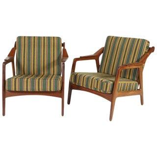 H. Brockman-Pedersen Danish Modern Chairs- a Pair For Sale